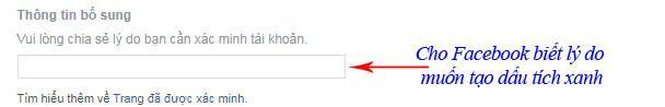 cách làm tích xanh facebook